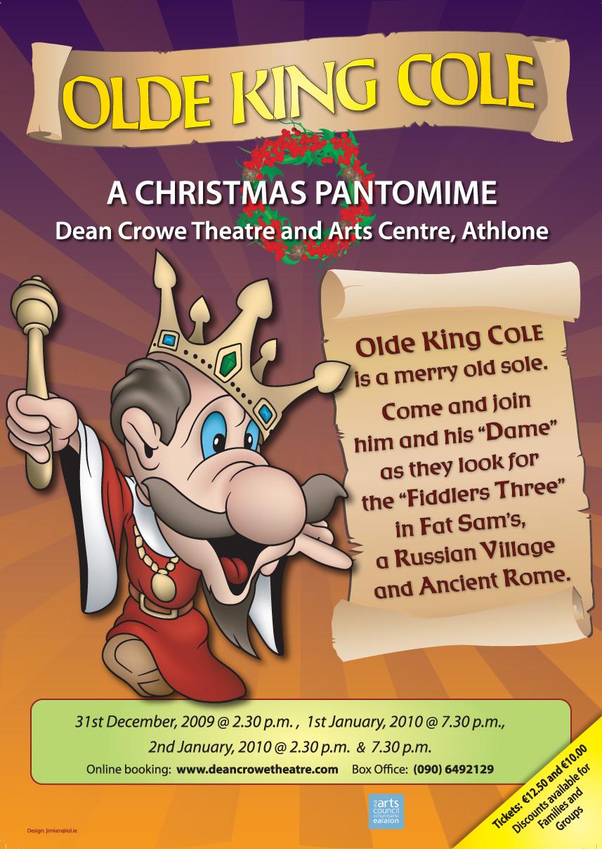 Christmas Pantomime Poster